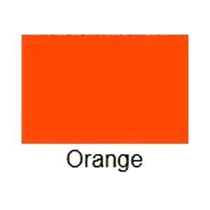 Glossy Orange, Adhesive Backed Vinyl Roll ~ 12� x 10� ~ Sign Vinyl for eCraft, Cricut + others