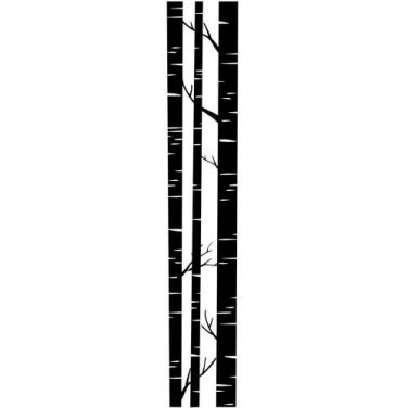 Trunks  ~ 2 1/2 inch x 12 inch Border Embossing Folder by Darice