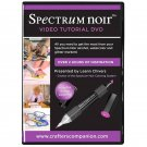 Spectrum Noir Video Tutorial DVD for their Sparkle Pens, Aqua Watercolor Markers + Alcohol Markers