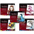 5 Sets of 24 Spectrum Noir Colourblend Colored Pencils -120 Blendable Vibrant Colors! Free Shipping