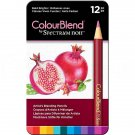 Spectrum Noir ColourBlend Colored Pencils - Bold Brights set of 12 Artist Grade Blendable Colors
