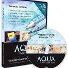Aqua by Spectrum Noir Watercolouring Tutorials DVD, Your Guide for Spectrum Aqua Water Based Markers