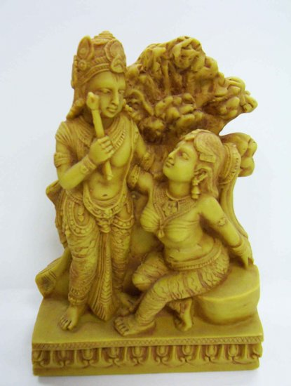 Clay Radha & Krishna