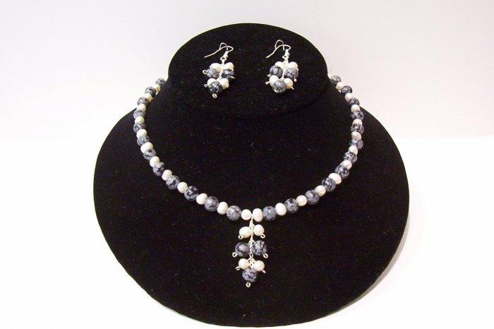 Gemstone Jewelry Set -1001