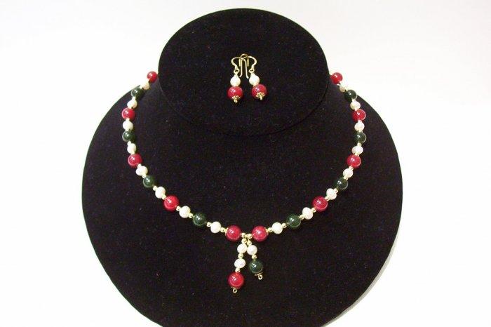 Gemstone Jewelry Set - 1008
