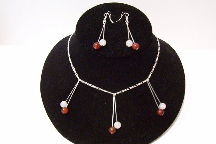 Gemstone Jewelry Set - 1014