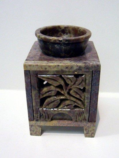 Soap Stone OIl Burner - Leaves