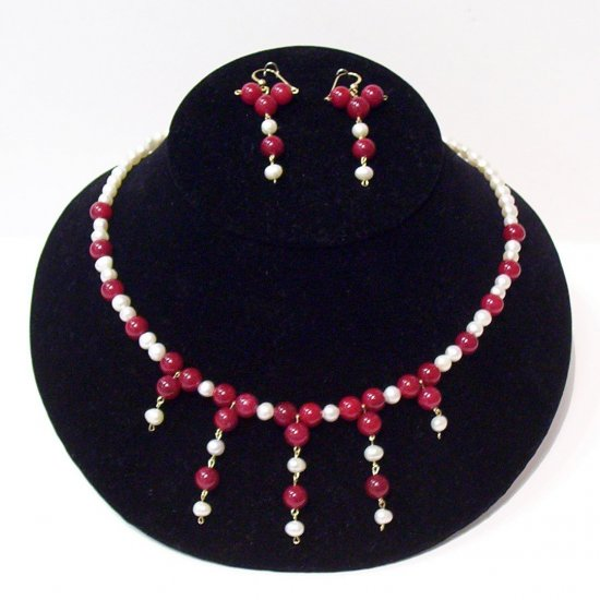 Gemstone Jewelry Set - 1020