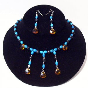 Gemstone Jewelry Set - 1023