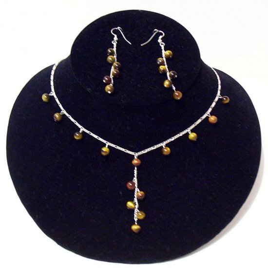 Gemstone Jewelry Set - 1028