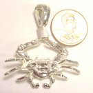 Sterling Silver Mens Crab
