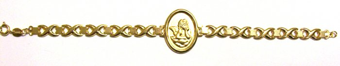 Gold Filled Women's Bracelet - Cherub
