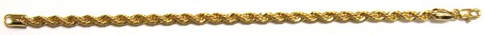 Gold Filled Women's Bracelet - Rope