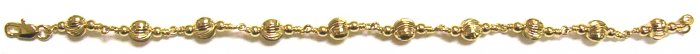 Gold Filled Women's Bracelet - Ball