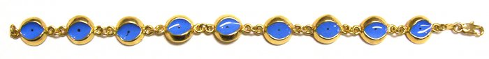 Gold Filled Women's Bracelet - Eyes
