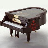 Musical Piano Jewelry Box