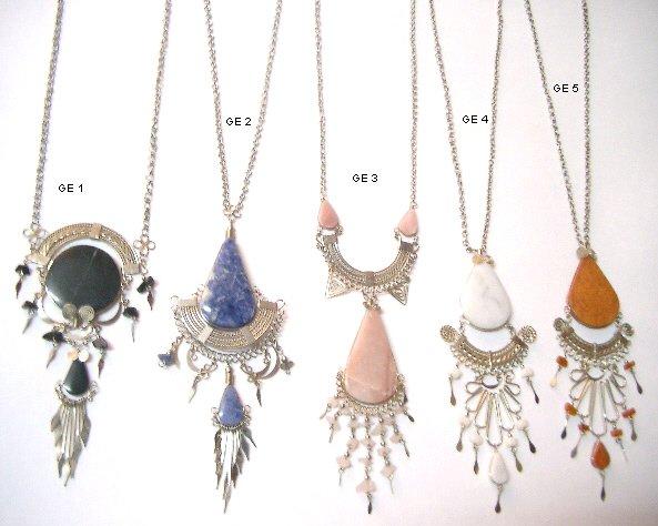 Incan Gemstone Necklace 1
