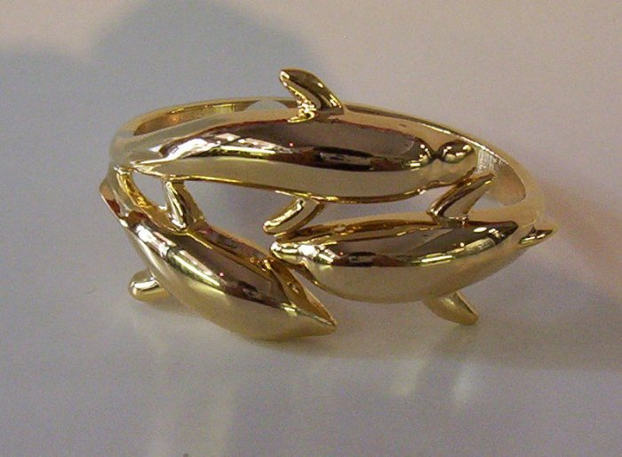 High End Dolphins Fashion Bangle - FREE SHIPPING