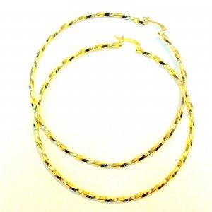 Spiral Hoop Earrings- Gold Filled