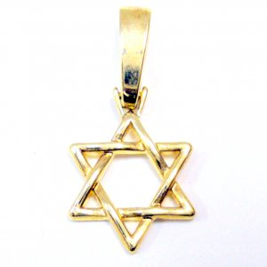 Star of David - Gold Filled