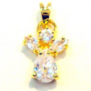 CZ Angel- Gold Filled