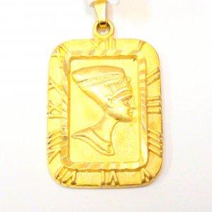 Egyptian Tablet - Gold Filled