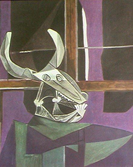 Crane de Boeuf By Pablo Picasso Verve Lithograph 1942 - Framed Artwork