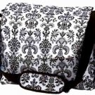 FREE SHIP Paris Black White Damask Diaper Bag by Room It Up / RoomItUp FREE SHIP USA