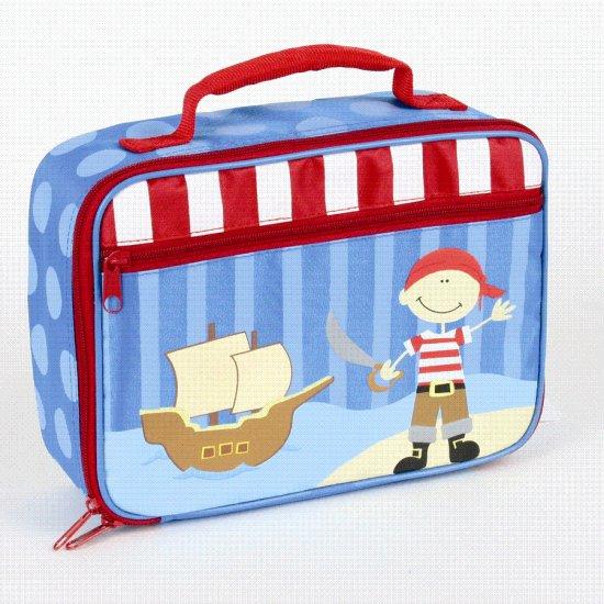 FREE SHIP Pirate Ship Lunch Bag Box Tote - Kids by Stephen Joseph FREE SHIPPING - USA