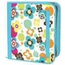 FREE SHIP Flower Polka Dot Notebook 3 Ring Binder by Room It Up / RoomItUp FREE SHIP