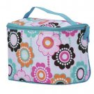 FREE SHIP Crazy Daisy Makeup Train Case by RoomItUp / Room It Up FREE SHIP