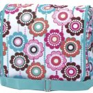 FREE SHIP Crazy Daisy Messenger Sling Bag Tote Diaper by RoomItUp / Room It Up FREE SHIP - USA