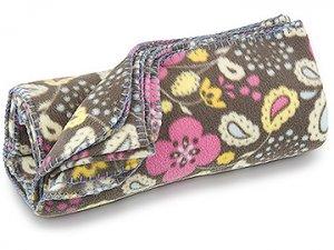 FREE SHIP Boho Flower Paisley Fleece Blanket by RoomItUp / Room It Up FREE SHIP - USA