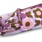 FREE SHIP Purple Flower Fleece Blanket by RoomItUp / Room It Up FREE SHIP - USA