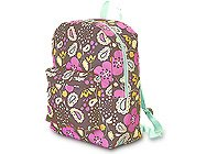 FREE SHIP Boho Paisley Flower Brown Backpack Diaper Bag by Room It Up / RoomItUp FREE SHIP USA