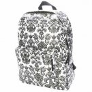 FREE SHIP Paris Black White Backpack Diaper Bag by Room It Up / RoomItUp FREE SHIP USA