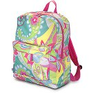 FREE SHIP Hippie Pink Backpack Diaper Bag by Room It Up / RoomItUp FREE SHIP USA
