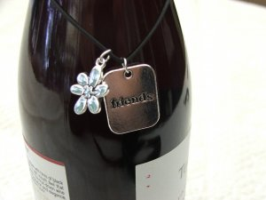 Charming Wine Bottle Charm
