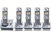 Panasonic KX-TG1035 DECT 6.0 5-handset Cordless Phone