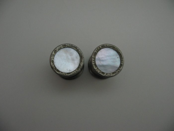 WHITE PEARL CUFF LINKS
