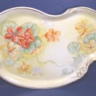 Pairpoint Limoges antique Victorian porcelain china plate tray hand painted large dish 1890s