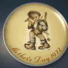 1972 MOTHER'S DAY PLATE SISTER BERTA HUMMEL WEST GERMANY SCHMID BROS. CHINA COLLECTOR DISH, BOX