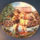 Hello Down There Goebel M. J. M. I. Hummel plate 1992 Little Companions figures Danbury Mint box COA