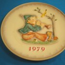 1979 M. J. Hummel Goebel Singing Lesson collector plate boy # 272 9th Annual W. Germany porcelain