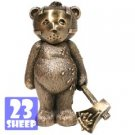 Rare Bad Taste Bear/Bears - BRONZE JASON