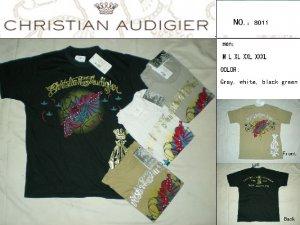 Christian Audigier Men's Tee