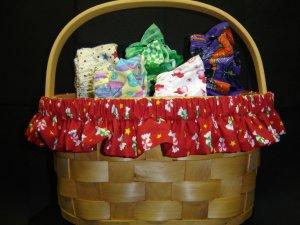 Seasonal Basket Garters
