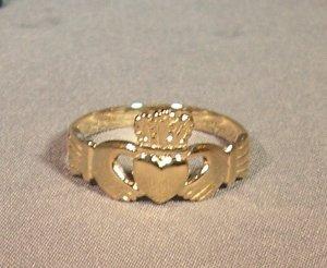 Celtic Wedding Ring 14K