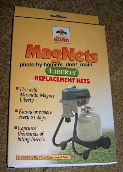 FOR SALE - Mosquito Magnet Replacement Nets for Liberty Model Quantity of 4