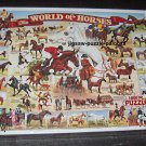 The World of Horses 1000 Piece Jigsaw Puzzle NIB Sealed 165 White Mountain 1999 Lynn Morgan